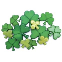 St. Patrick's Day Holiday Buttons by Favorite Findings