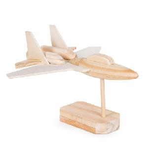 Fighter Jet Wood Model Kit