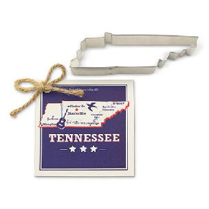 Tennessee State Cookie Cutter 5 1/8 inch by Ann Clark