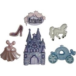 Happily Ever After - 5 piece Trim Button Set