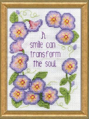 Transform the Soul - Counted Cross Stitch Kit