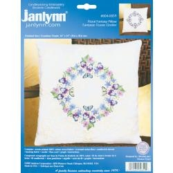 Floral Fantasy 14 x 14 inch pillow kit