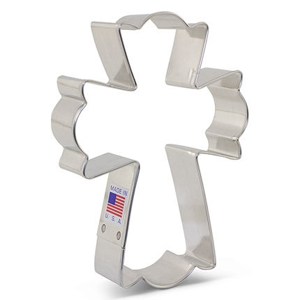 Cross - Cookie Cutter Large by Flour Box Bakery 5 inch