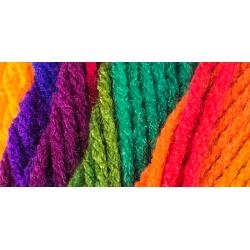 Favorite Stripe - Red Heart Super Saver Acrylic Yarn - 5 oz