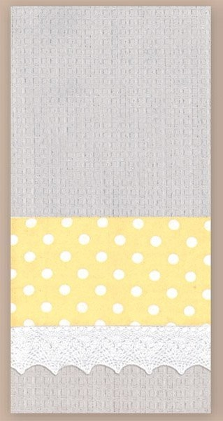 Grey Waffle Towel 18 x 28 inches