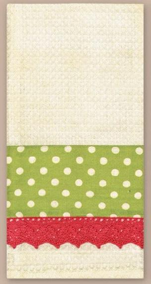 Ivory Waffle Towel 18 x 28 inches for Needlework