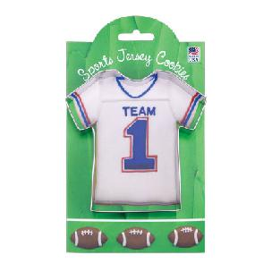 Sports Jersey 4 3/8 inch - Make More Cookies Cookie Cutter