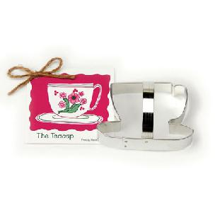 Teacup Cookie Cutter 4 1/4 inch by Ann Clark