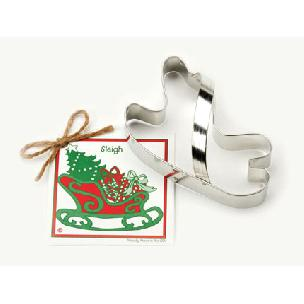Sleigh Cookie Cutter 5.5 inch 'Traditionals' by Ann Clark