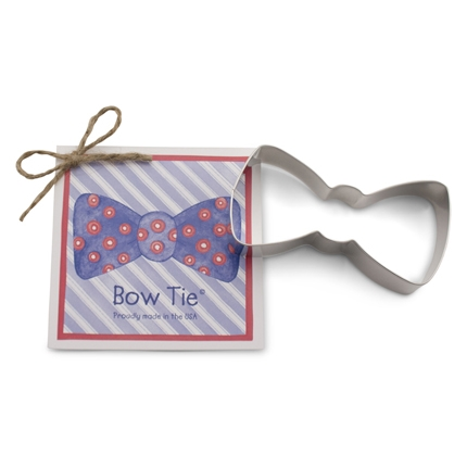 Bow Tie Cookie Cutter 4 inch 'Traditionals' by Ann Clark