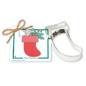 Stocking Cookie Cutter 4 inches by Ann Clark