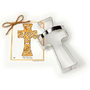 Cross Cookie Cutter 6 1/8 inches by Ann Clark