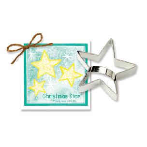 Star - Christmas Cookie Cutter 4 1/2 inches by Ann Clark