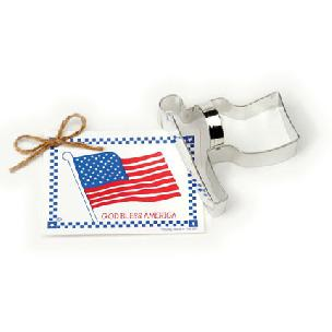 Flag Cookie Cutter 4 1/4 inches by Ann Clark