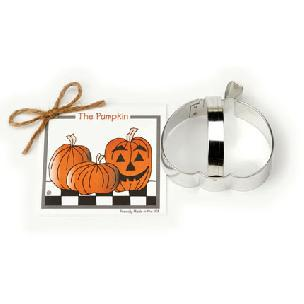 Pumpkin Cookie Cutter 3 1/2 inch by Ann Clark