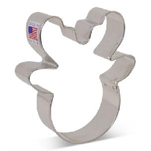 Reindeer Head Cookie Cutter, 3 3/4