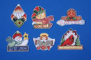 Signs of Christmas Ornaments Cross Stitch Kit