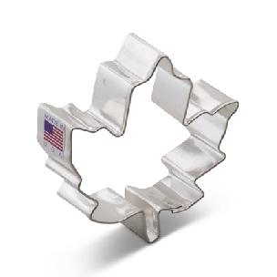 Maple Leaf Cookie Cutter 3 1/8 inch by Ann Clark
