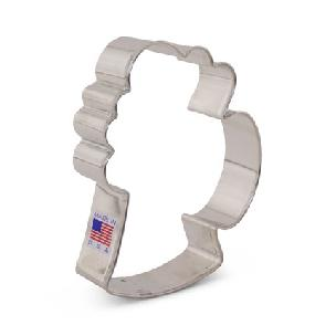 Beer Mug Cookie Cutter 4 1/4 inch by Ann Clark