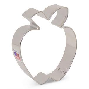 Apple Cookie Cutter 3 1/2 inches by Ann Clark
