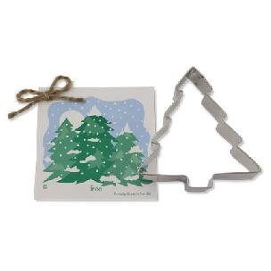 Christmas Tree Cookie Cutter 4 1/8 inch by Ann Clark