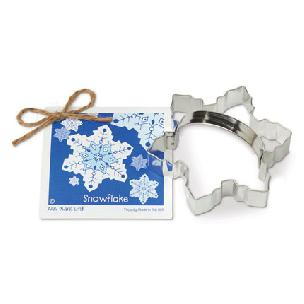 Snowflake Cookie Cutter 4 1/2 inch by Ann Clark