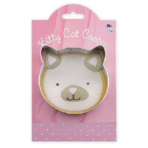 Kitty Cat Cookie Cutter 3 1/2 inch by Ann Clark