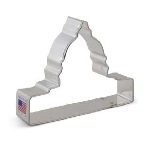 Capitol Building Cookie Cutter 4 inch by Ann Clark