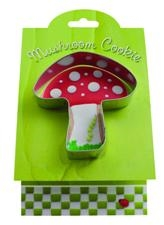 Mushroom - Make More Cookies Cookie Cutter by Ann Clark