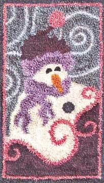 Snow! - by Jeri Kelly Punchneedle Design on Weaver's Cloth