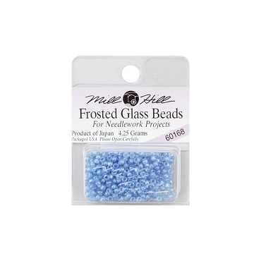 Sapphire - Mill Hill Frosted Glass Seed Beads 2.5mm 4.25g