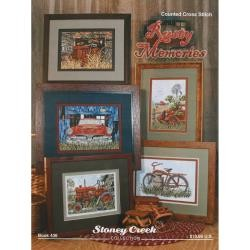 Rusty Memories Counted Cross Stitch Pattern Collection
