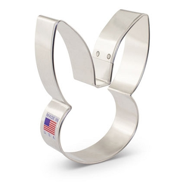 Bunny Face - Cookie Cutter Large - 4 inch by Ann Clark