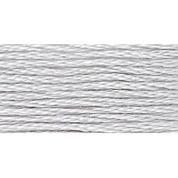 117-0001 White Tin - Six Strand DMC Floss