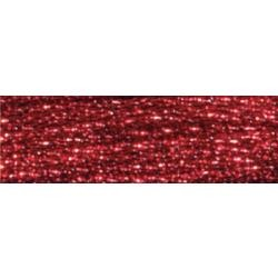 317W-E815 Dark Red Ruby DMC Light Effects Floss 8.7yd