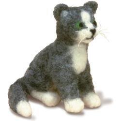 Cat Needle Felting Kit by Dimensions