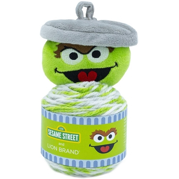 Oscar Grouch - Lion Brand Sesame Street One Hat Wonder Yarn